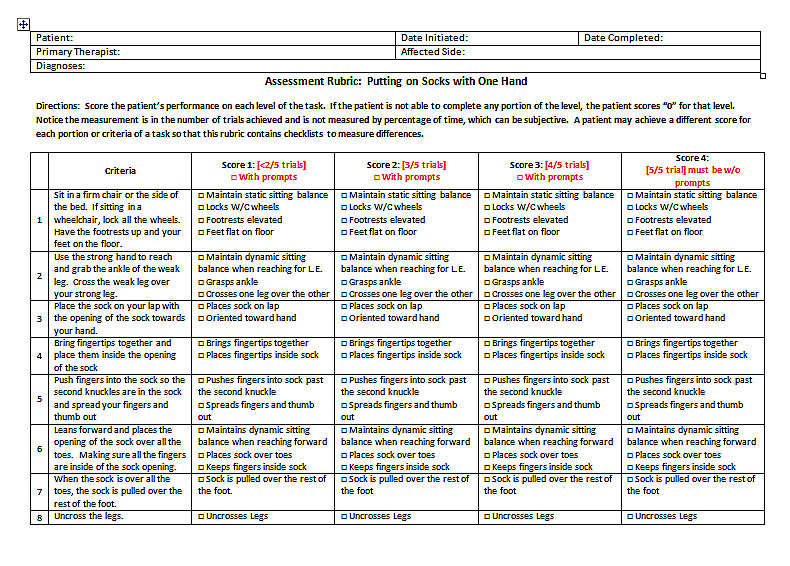 If you would like a copy of this assessment rubric, please follow my blog and send your e-mail address to eleanorot@gmail.com
